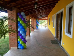 Decoracao com baloes 097